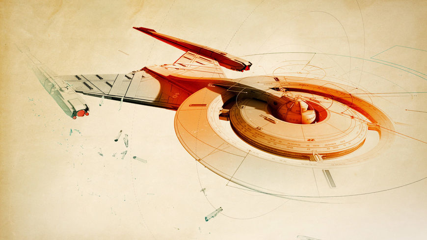 IMAGE: Star Trek: Discovery (2016) Starship