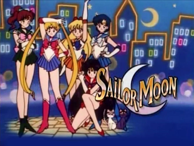 VIDEO: Title Sequence – Sailor Moon (1995) English main titles
