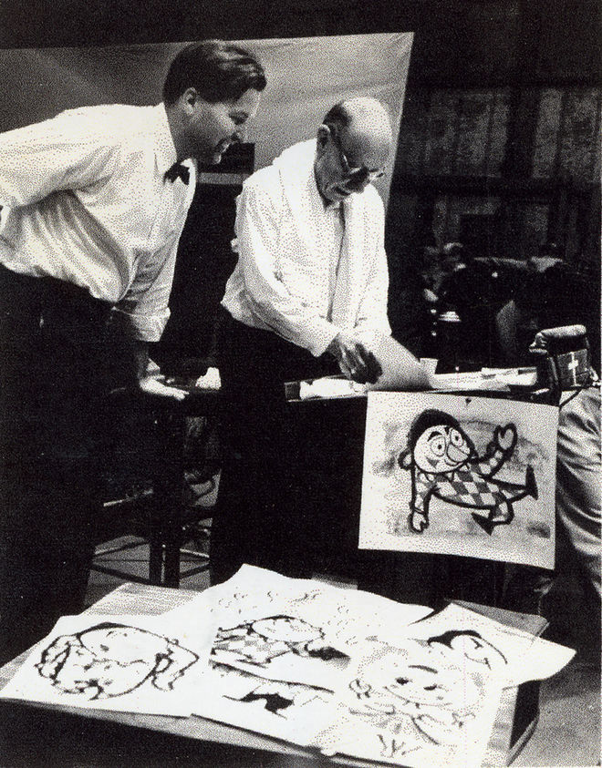 IMAGE: Photo – Wilson and Stravinsky