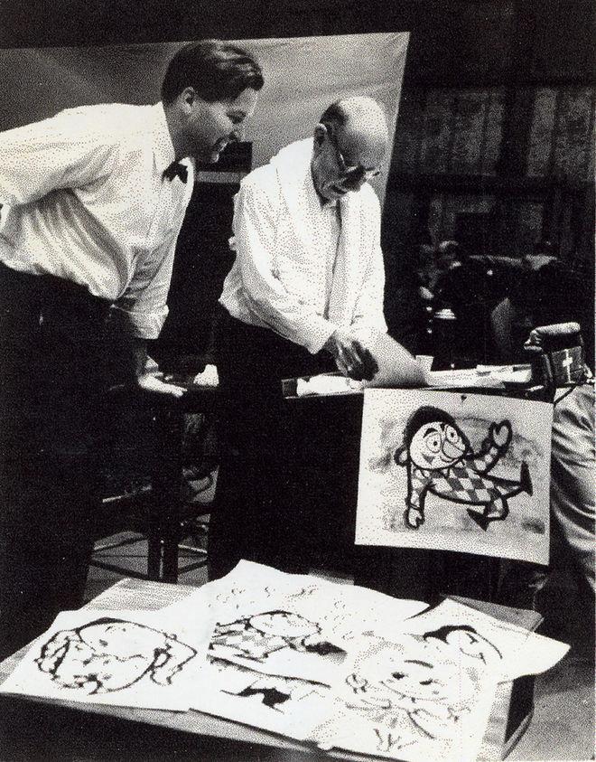 IMAGE: Photo –Wilson and Stravinsky
