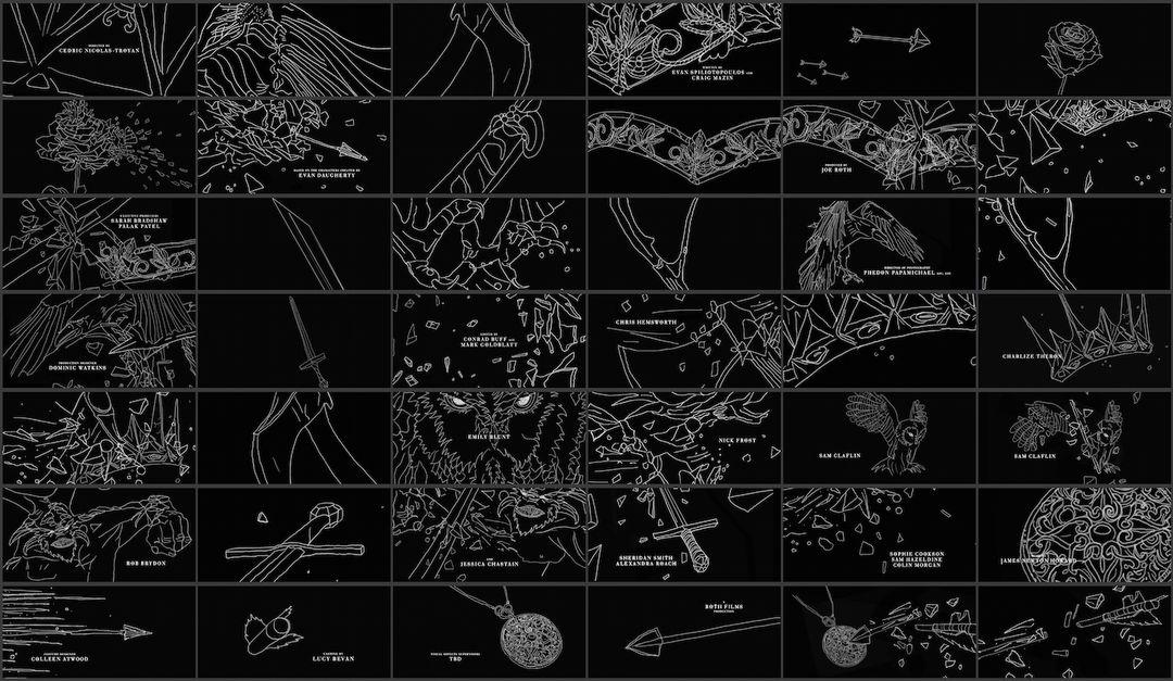 IMAGE: Huntsman storyboards