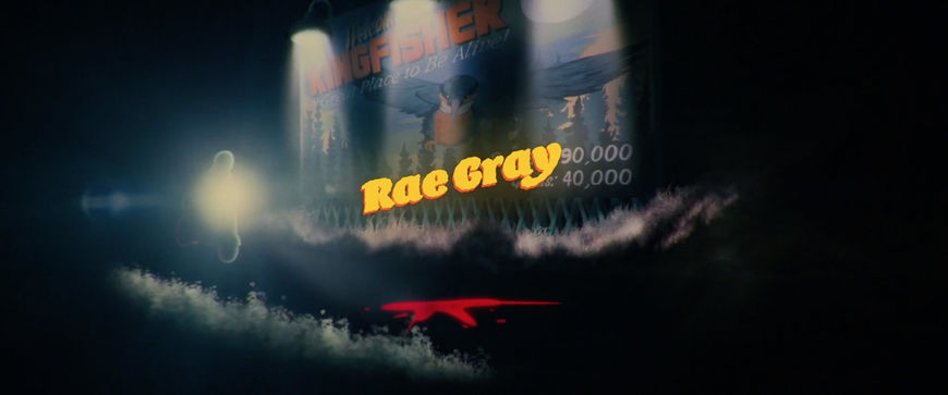 IMAGE: Still - Opening section with Rae Gray