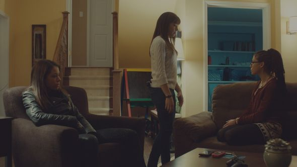 Tatiana Maslany playing Sarah, Alison, and Cosima