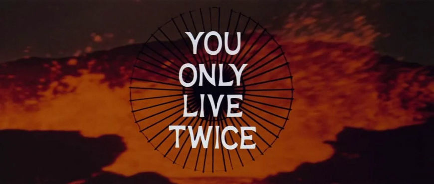VIDEO: Title Sequence – You Only Live Twice (1967)