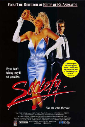 IMAGE: Society (1989) poster