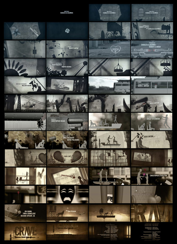 Crave - Storyboard, 01/21/11