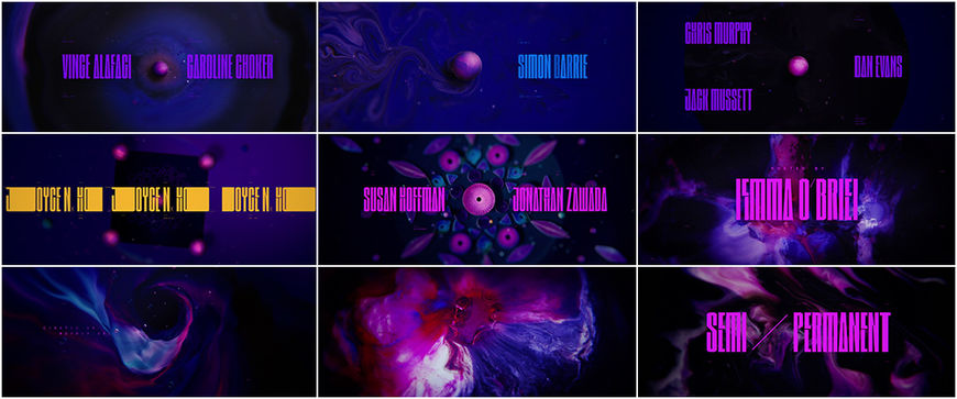 VIDEO: Title Sequence - Semi-Perm 2018 (left)