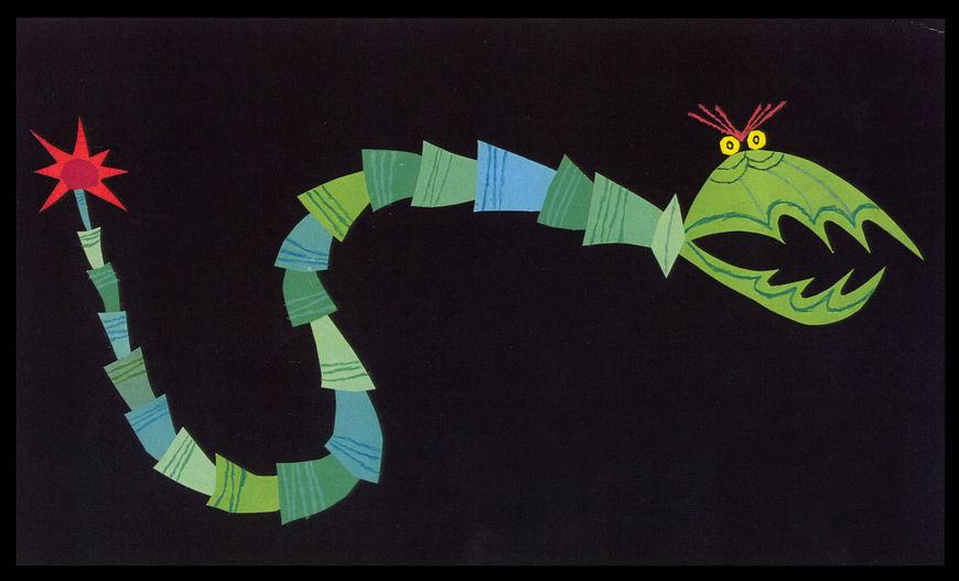 IMAGE: Monsters, Inc snake