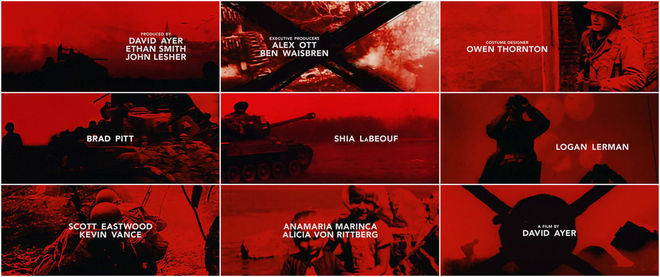 VIDEO: Title Sequence – Fury (2014)