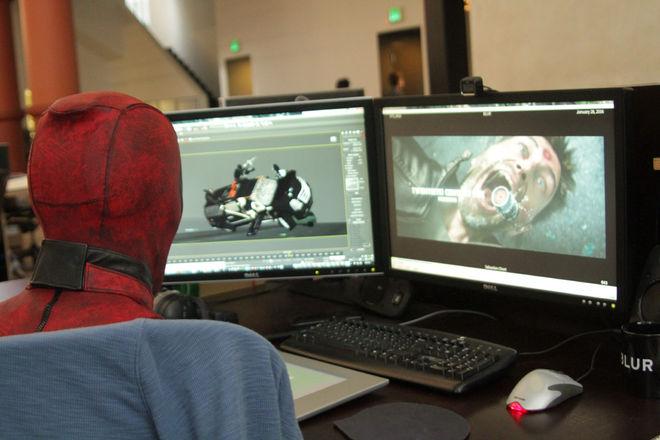 IMAGE: Deadpool at Blur Studio