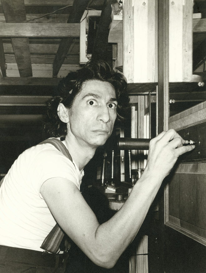 I: Pablo at his 2nd Ave. studio/apartment, 1975