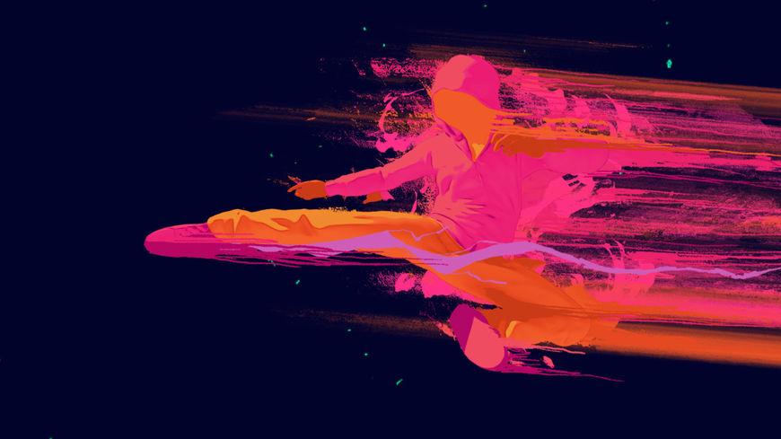 IMAGE: Iron Fist (2017) Kick Concept Board 2