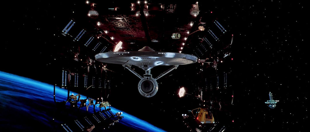 VIDEO: Clip – Star Trek: The Motion Picture (1979) Enterprise Reveal