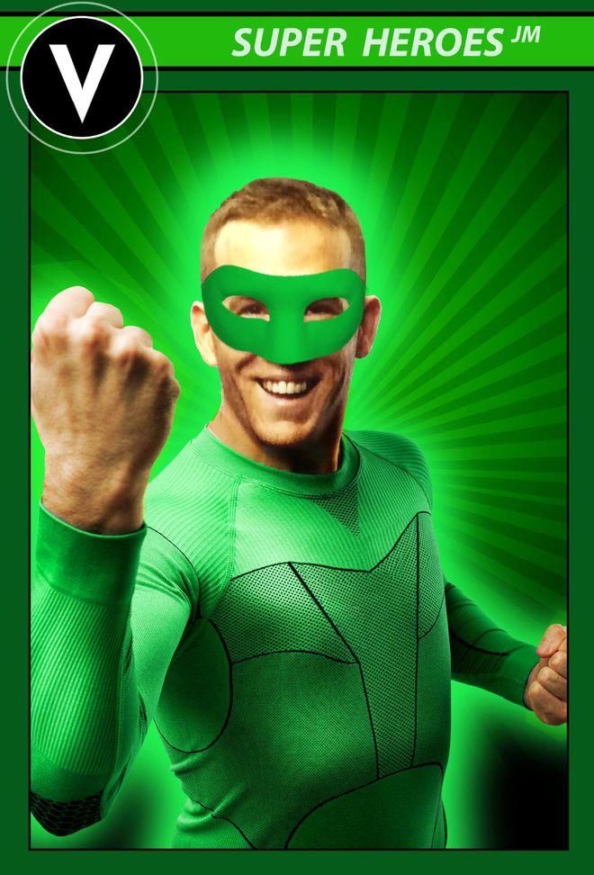 IMAGE: Deadpool Green Lantern Parody