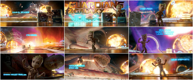 VIDEO: Title Sequence – Guardians of the Galaxy Vol. 2