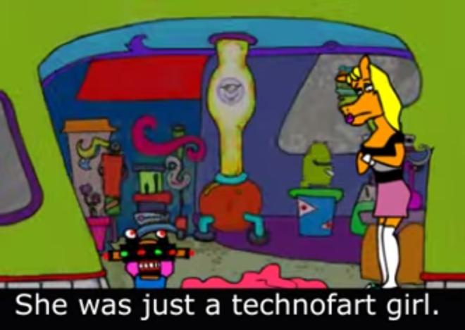 IMAGE: Whinsey still – technofart girl