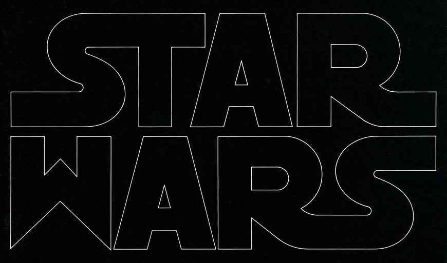 IMAGE: Suzy Rice Original Star Wars Logo Design