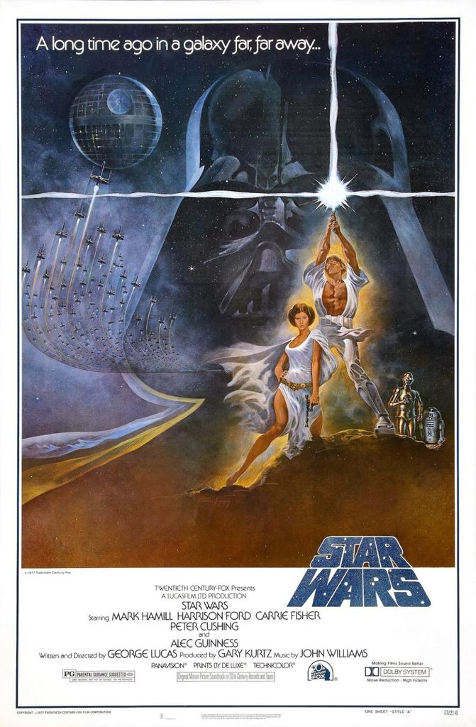 Star Wars (1977) — Art of the Title