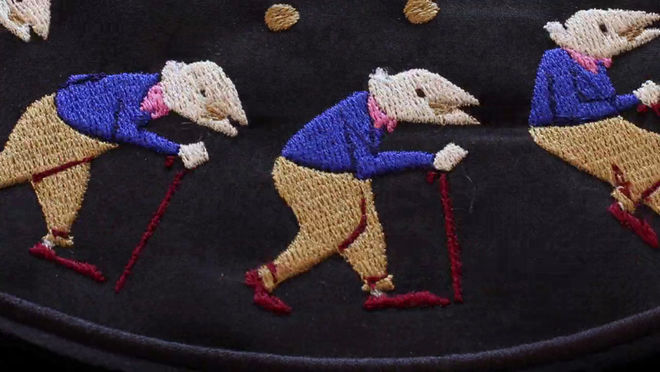VIDEO: Short – Embroidered Zoetrope