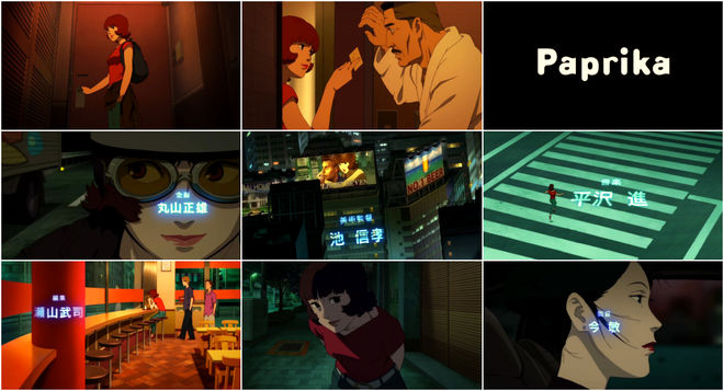 VIDEO: Title Sequence –Paprika