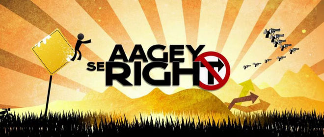 VIDEO: Title Sequence –Aagey Se Right
