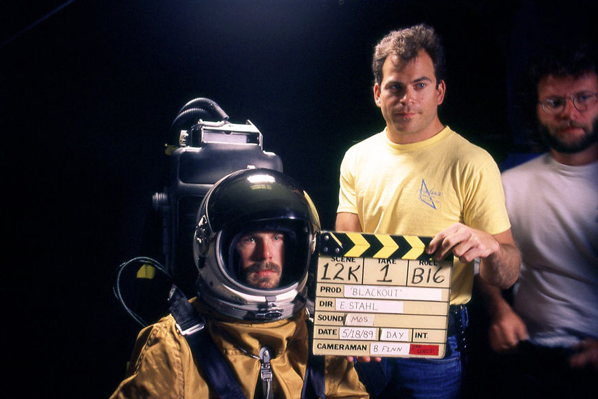 IMAGE: Stunt double wearing Lockheed SR-71 space suit