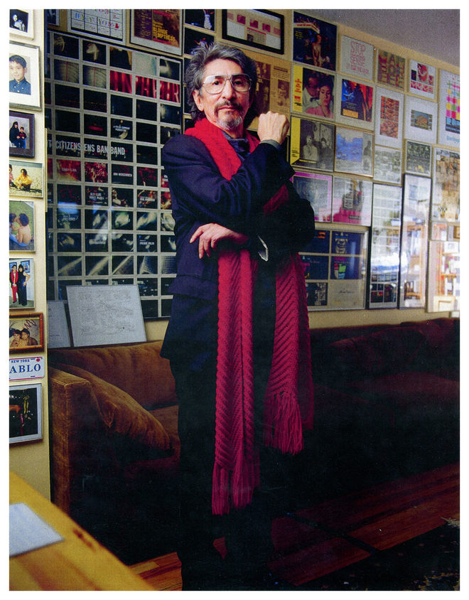 I: Pablo at his home studio, 2003