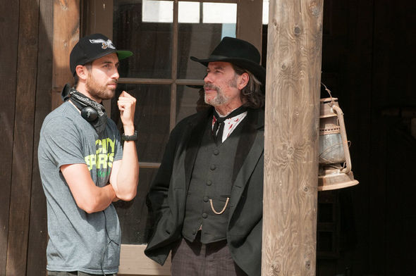 IMAGE: In A Valley of Violence BTS Photo