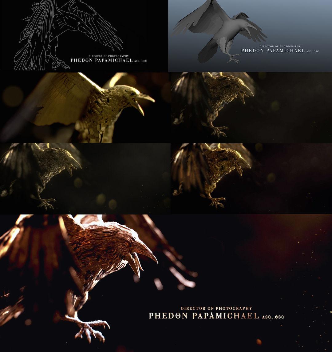 IMAGE: Raven CG figure development
