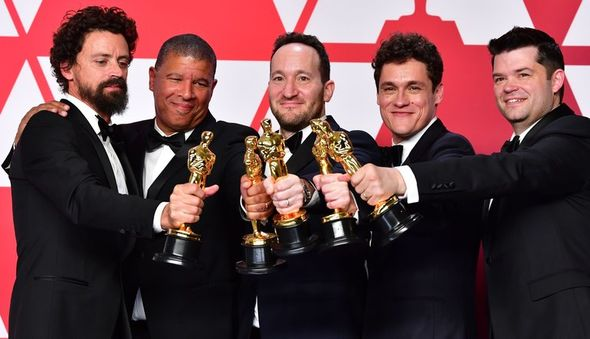IMAGE: Filmmakers with Oscars