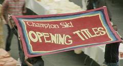 """Champion Ski """"Opening Titles"""""""