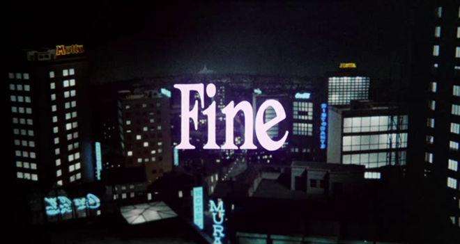 "IMAGE: ""Fine"" end card"