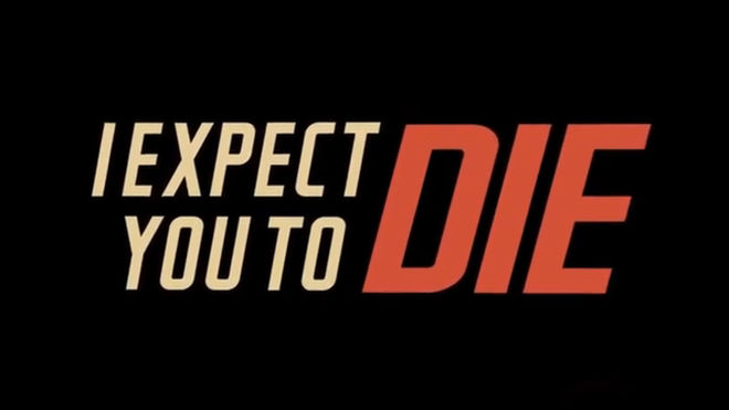 VIDEO: Title Sequence – I Expect You to Die (2016)