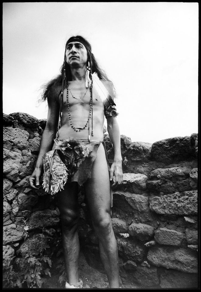 I: Pablo as the 'Indian' in Robert Downey Sr.'s Greaser's Palace (1972)