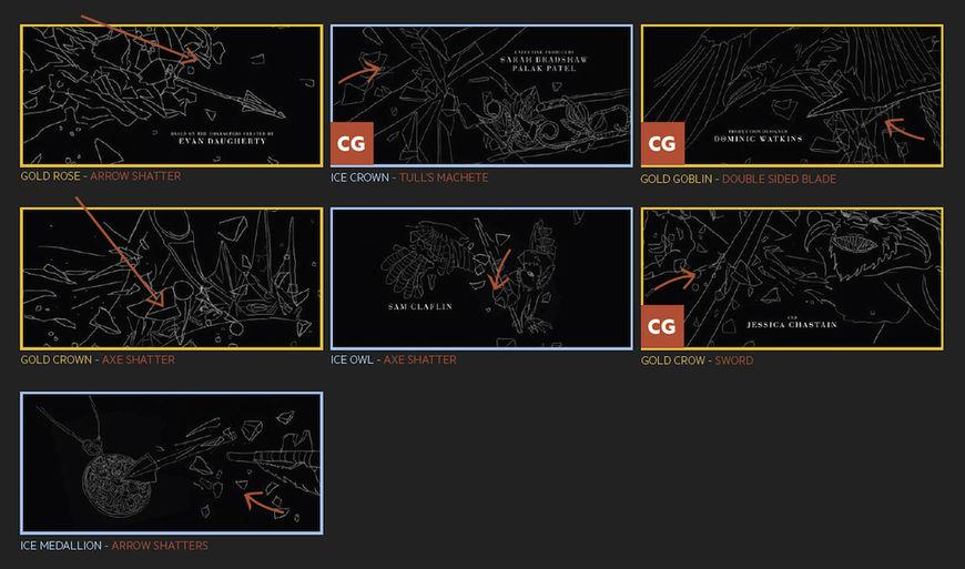 IMAGE: Huntsman illustrated impact moments