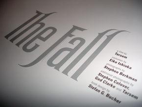 Fall - Book logo treatment