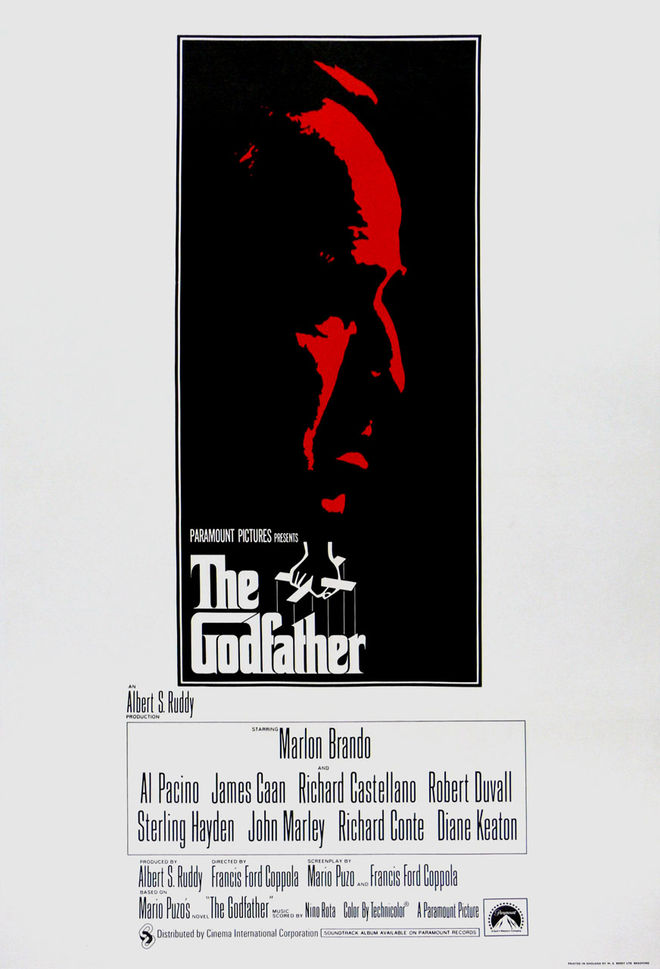 I: The Godfather poster