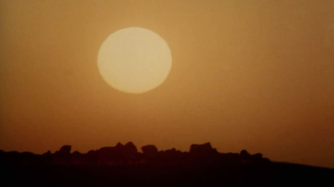 IMAGE: Sun fade in