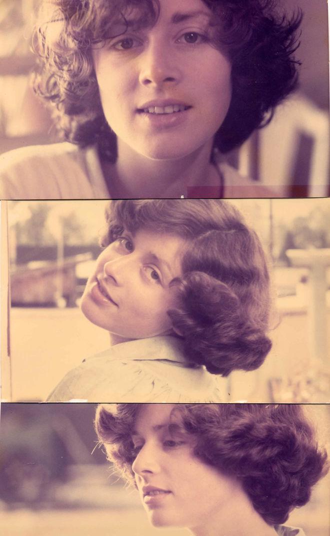 IMAGE: Nina in her 20s, 1982