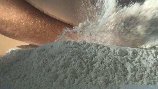 VIDEO: Vinyl Initial Powder Test