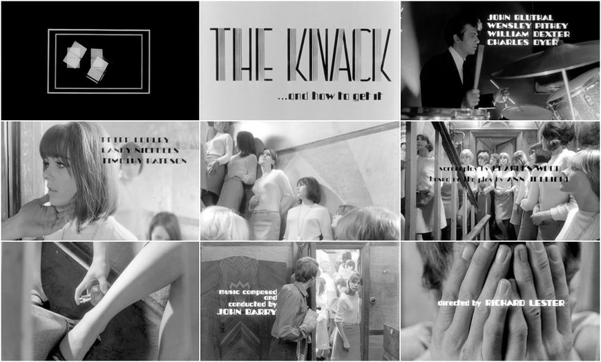 VIDEO: Title Sequence –The Knack (1965) main titles