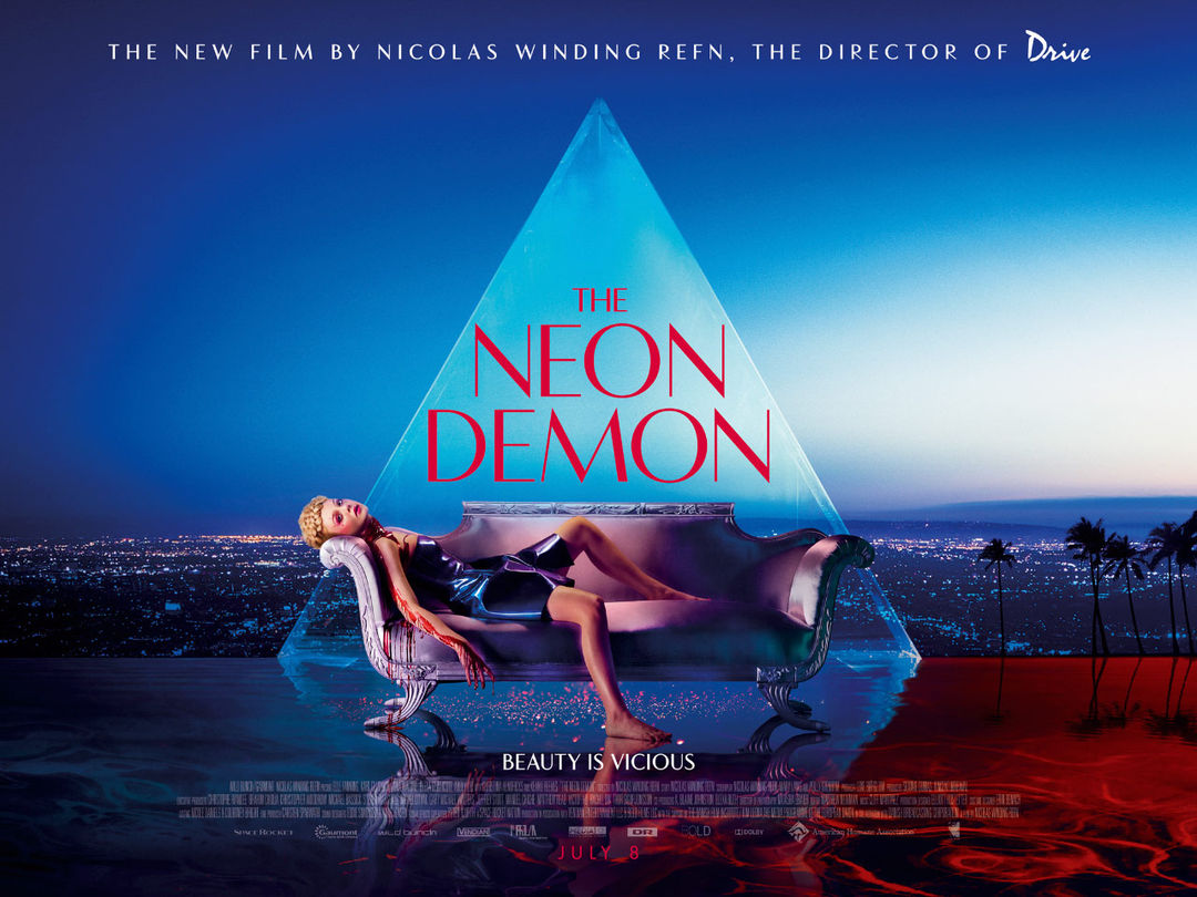 IMAGE: Neon Demon Quad Art
