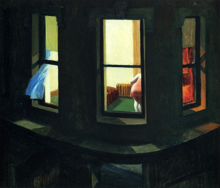 IMAGE: Edward Hopper's Night Windows