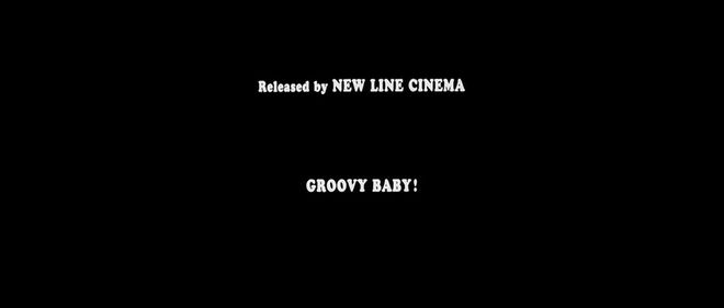 IMAGE: Last frame of end titles - Groovy baby!