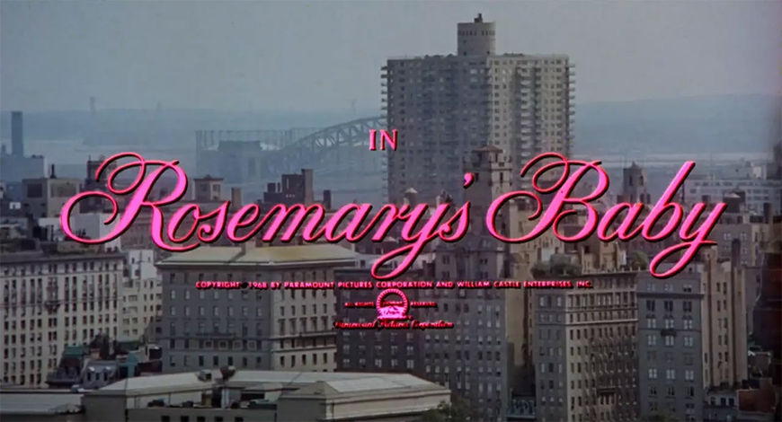 VIDEO: Title Sequence – Rosemary's Baby (1968)