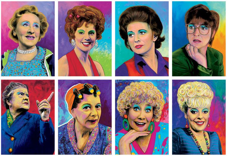 IMAGE: Coronation Street portrait series