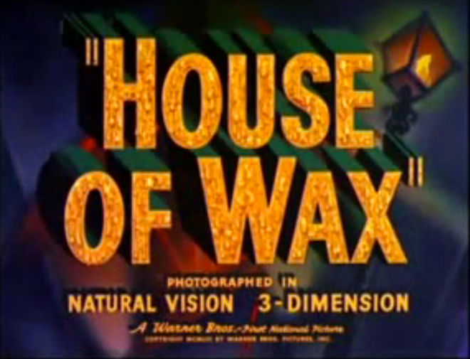 VIDEO: Trailer –House of Wax (1953)