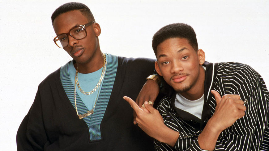 IMAGE: DJ Jazzy Jeff and The Fresh Prince Publicity Still