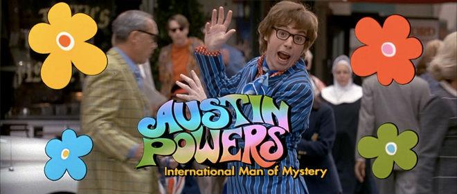 IMAGE: Austin Powers 1 title card