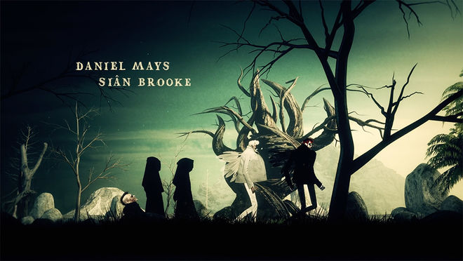 IMAGE: Still 4 - Azi, Crowley, procession, trees